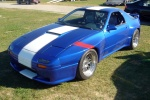 Highlight for Album: Trirotor's 2nd Gen RX7 with a 20B!